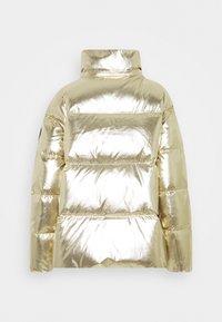 Tommy Hilfiger - HIGH GLOSS PUFFER - Down jacket - gold - 2