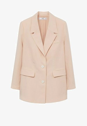 Short coat - pastellrosa