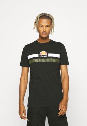 APREL TEE - Print T-shirt - black