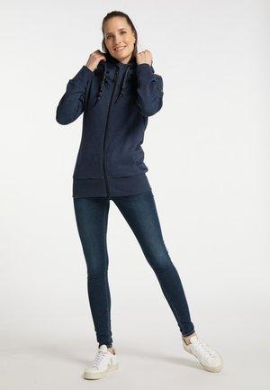 LIBRIA UPGRADE - Zip-up sweatshirt - navy