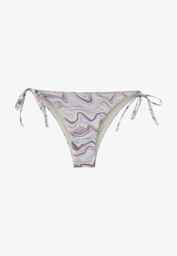MIT PSYCHEDELISCHEN WELLEN - Bikini bottoms - lilac
