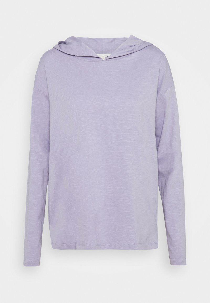 edc by Esprit - HOODY - Long sleeved top - purple