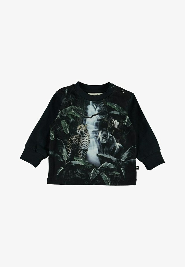 Langærmede T-shirts - moonlight animals