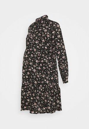 MLSEVDA WOVEN DRESS - Žerzejové šaty - black/flower