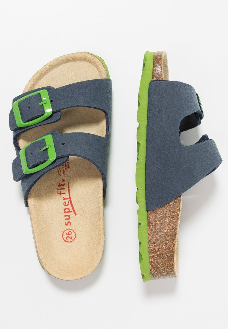 Superfit - FUSSBETTPANTOFFEL - Domácí obuv - ocean