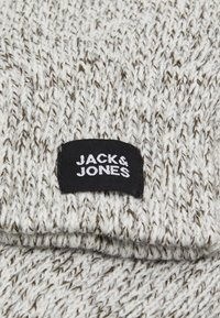 Jack & Jones - JACETHAN GLOVES - Gloves - white melange - 2