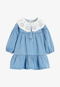 Next - Denim dress - blue - 6