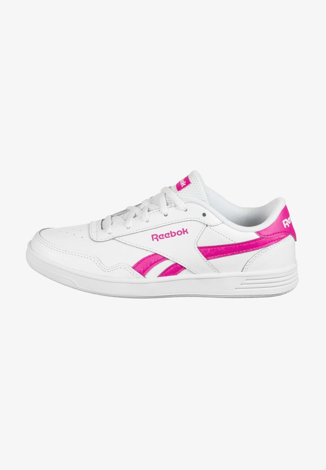 ROYAL TECHQUE T DAMEN - Baskets basses - white / proud pink