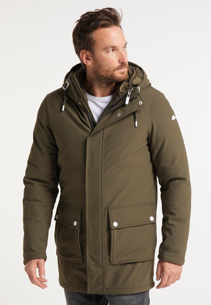 ICEBOUND - Zimní kabát - militär oliv