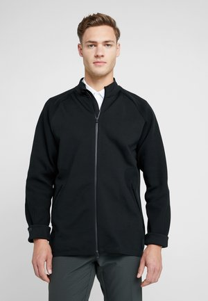 ADICROSS LAYERING - Zip-up hoodie - black