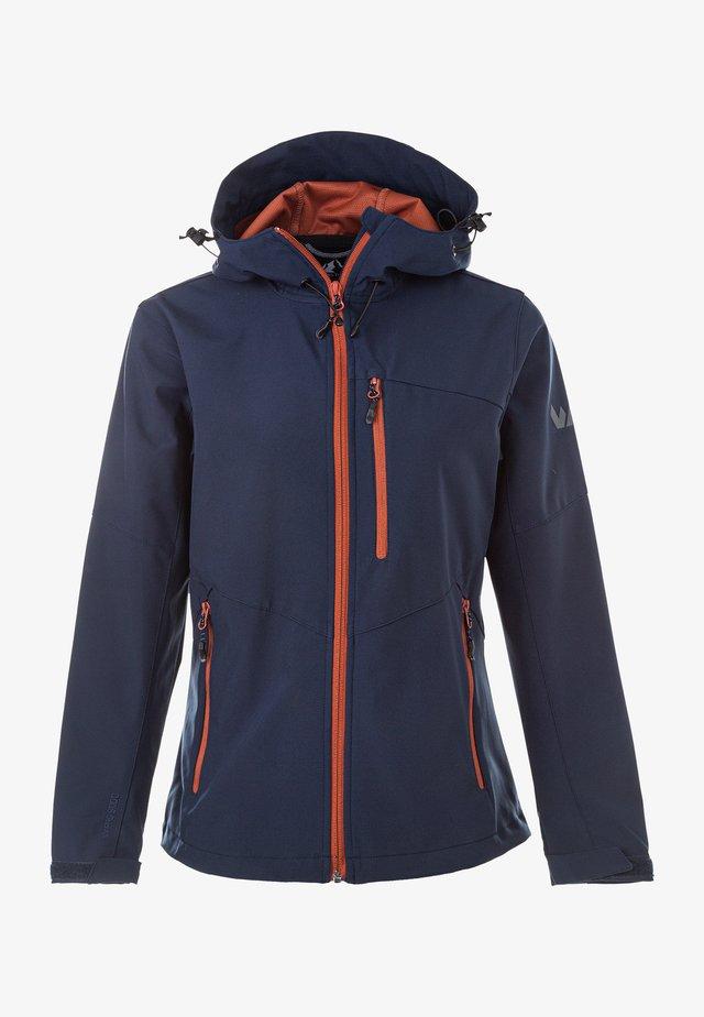 ROSEA W-PRO 8000 - Soft shell jacket - navy blazer