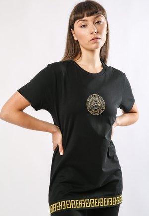 BIG-TOUR T-SHIRT LADIES - T-shirt con stampa - black