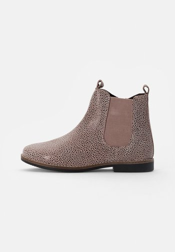 LEATHER BOOTIES - Classic ankle boots - pink
