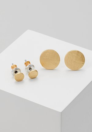 SET - Boucles d'oreilles - gold-coloured