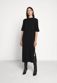 WEEKEND MaxMara - ONDA - Pletené šaty - schwarz - 0