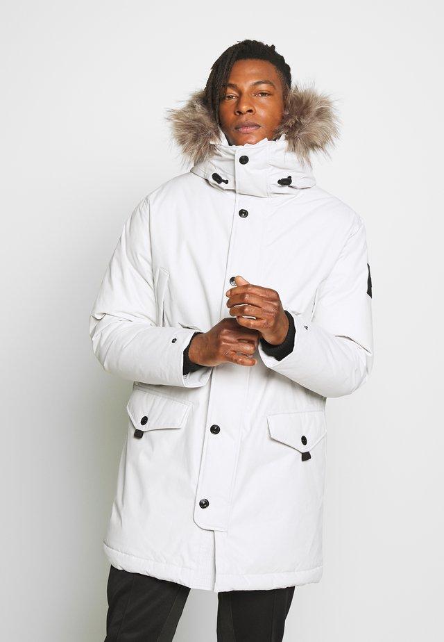 Down coat - antarctica