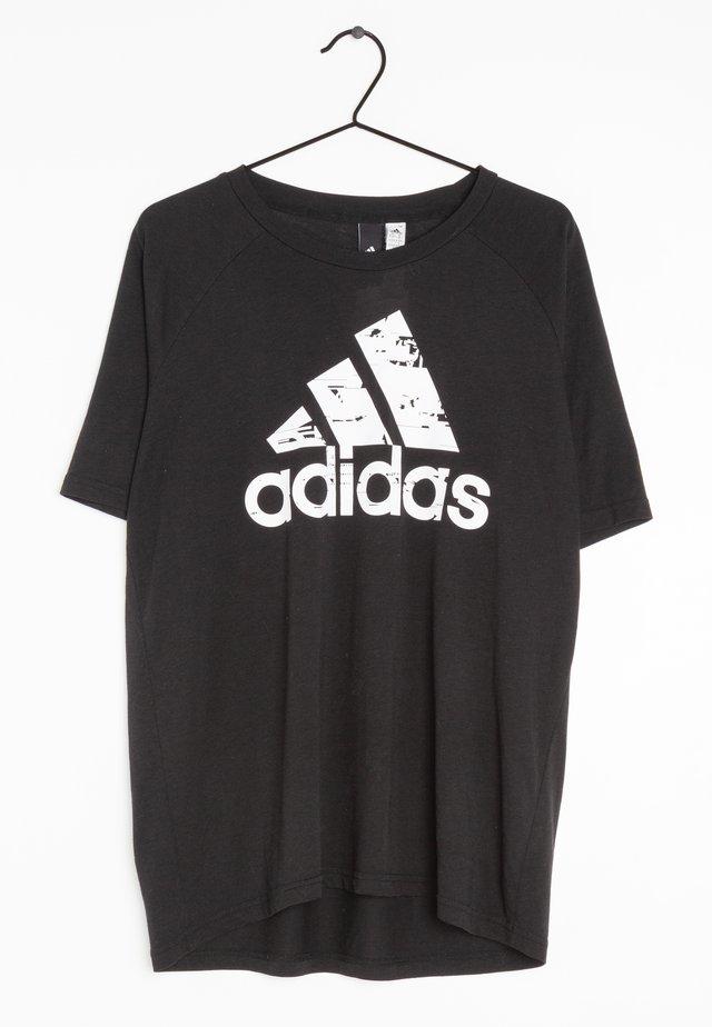 Camiseta estampada - black