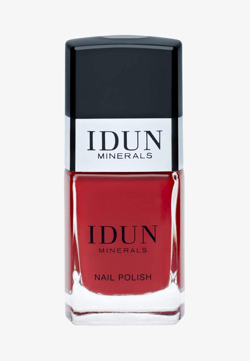 IDUN Minerals - NAIL POLISH - Nail polish - rubin - red