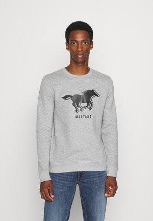 BEN LOGO - Sweater - mid grey melange