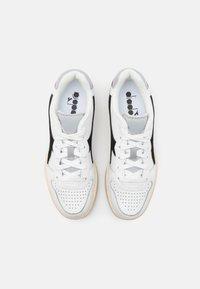 Diadora - MI BASKET ICONA UNISEX - Zapatillas - white/black/high rise - 3