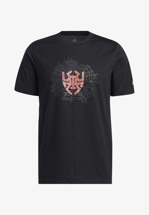 D.O.N. ISSUE #2 SENSE LOGO T-SHIRT - T-shirt z nadrukiem - black