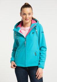 Schmuddelwedda - Outdoor jacket - turquoise - 0