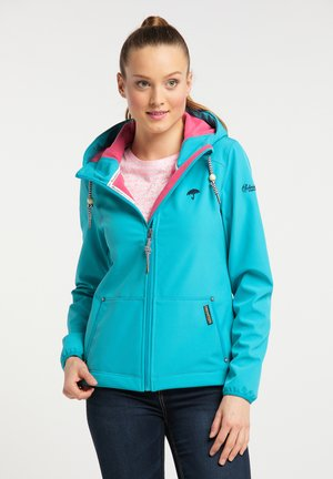 Outdoor jacket - turquoise
