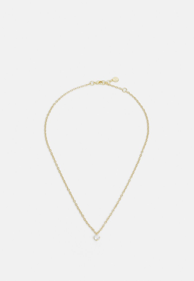 SNÖ of Sweden - LUIRE SMALL STONE PENDANT - Necklace - gold-coloured