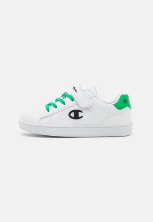 LOW CUT SHOE ALEX UNISEX - Sports shoes - white/green/black