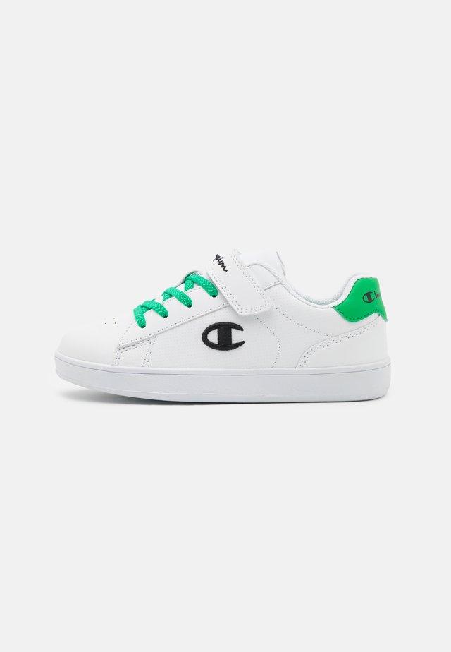 LOW CUT SHOE ALEX UNISEX - Sports shoes - white/green/black