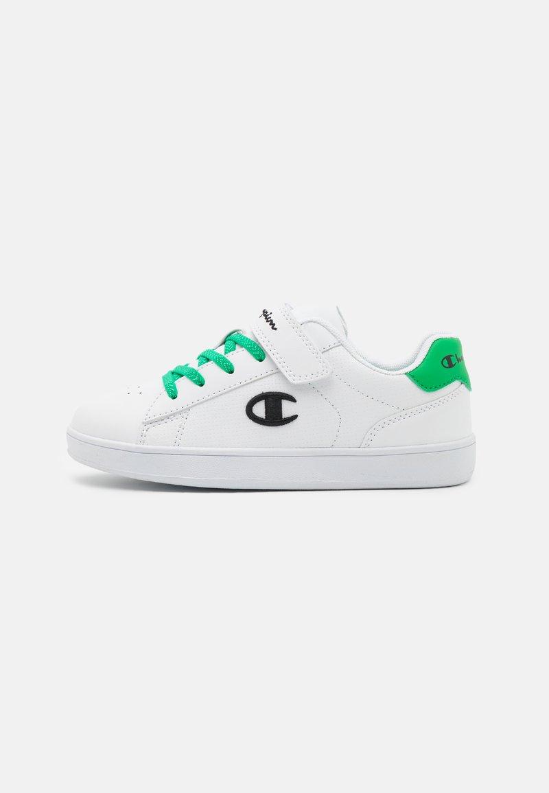 Champion - LOW CUT SHOE ALEX UNISEX - Sports shoes - white/green/black