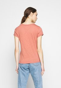Abercrombie & Fitch - ICON CREW TEE  - Jednoduché triko - pink - 2