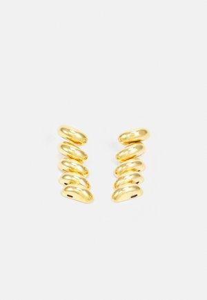FUSILLI CHAIN EARRINGS - Earrings - gold-coloured