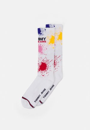 SPLASH SOCK UNISEX - Socks - white