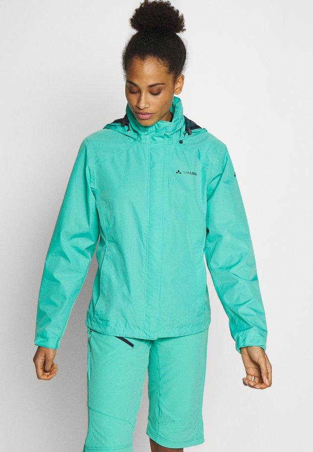ESCAPE - Waterproof jacket - peacock