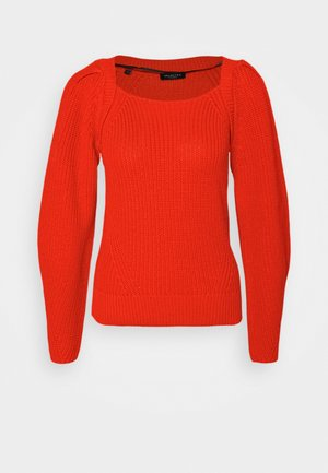 SLFGRYA - Strickpullover - bright red