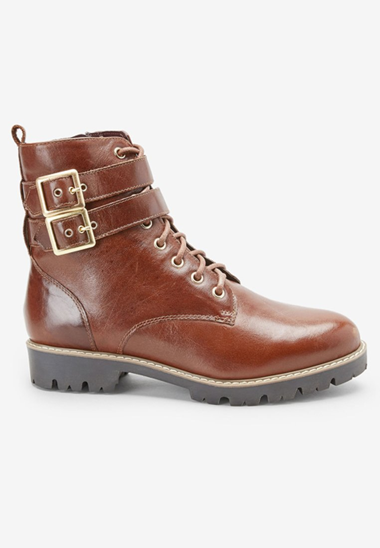 Next Schnürstiefelette brown/braun