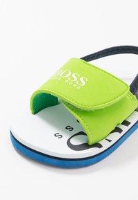 BOSS Kidswear - Sandals - sea/green - 5