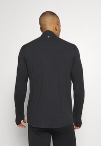 Endurance - ABBAS PRINTED MIDLAYER - Sports shirt - black - 2