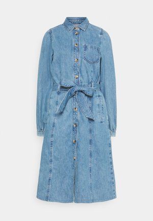 HAVIN - Denim dress - medium denim