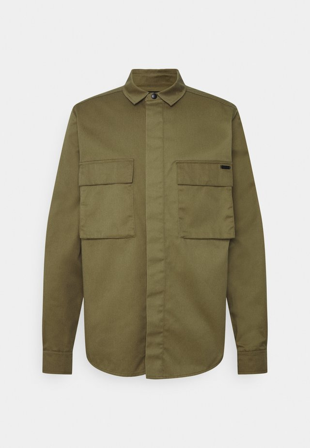 SEASONAL FIT CLEAN UTILITY - Camisa - khaki
