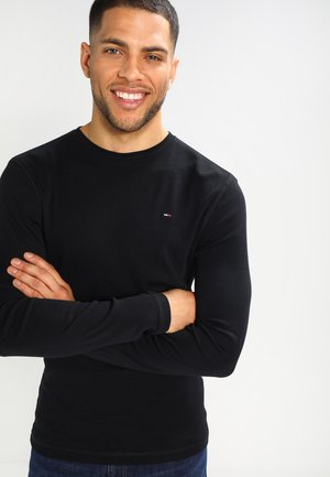 ORIGINAL SLIM FIT - Long sleeved top - black