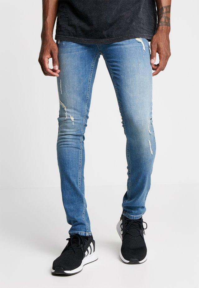 HERO - Jeans Skinny - ripper blue