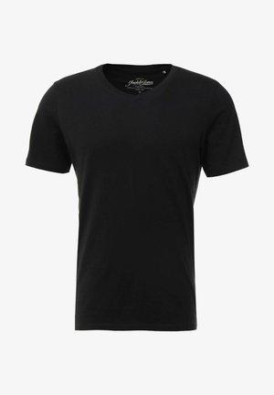 JJEPLAIN  - Basic T-shirt - black