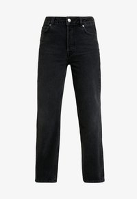 Selected Femme - SLFKATE STRAIGHT - Džíny Straight Fit - grey denim - 3