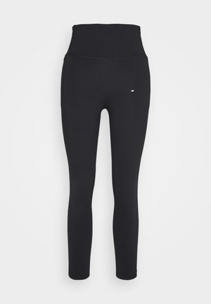 MERIDIAN CROP - Leggings - black