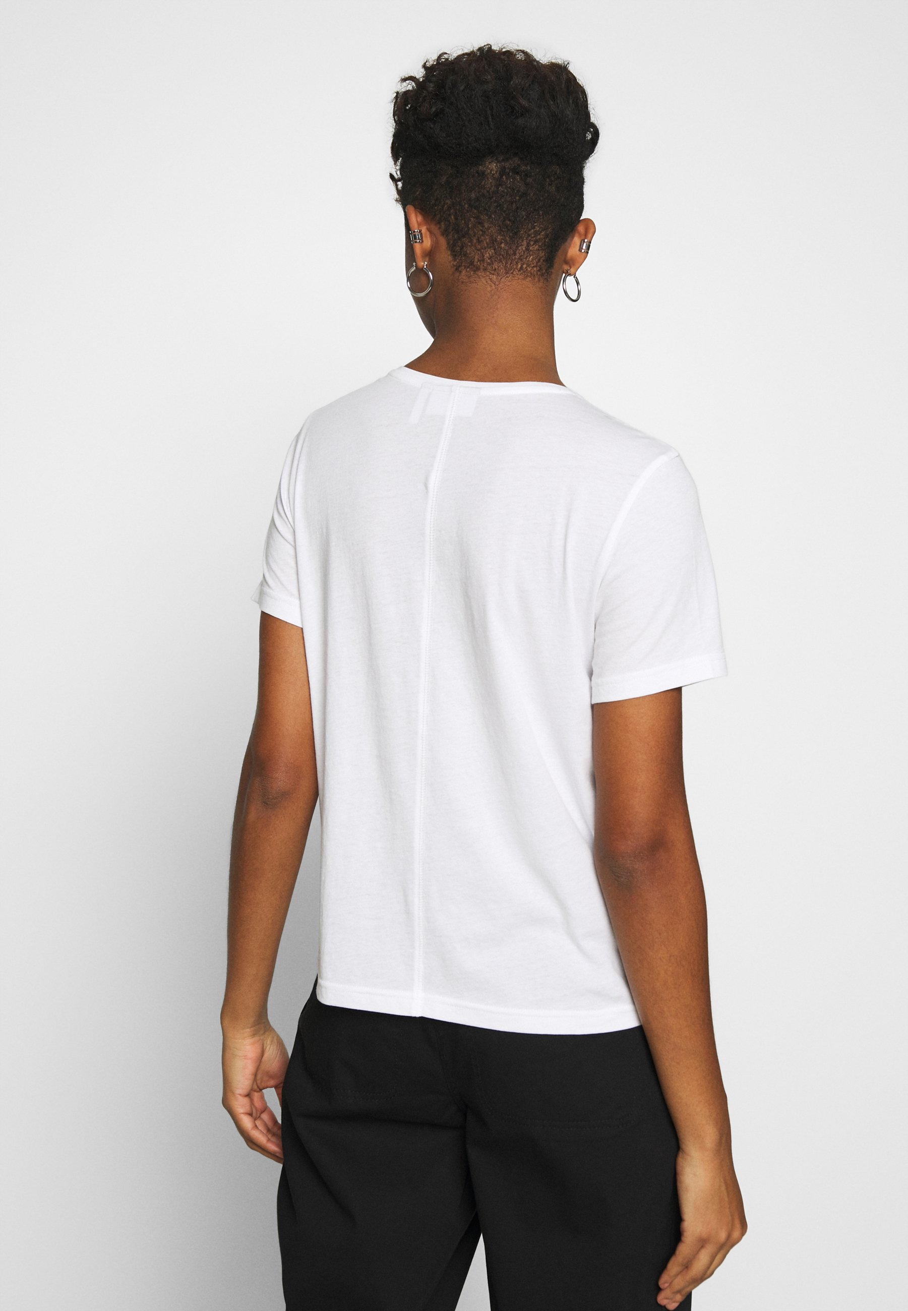 Weekday Matilda - T-shirts White/hvit
