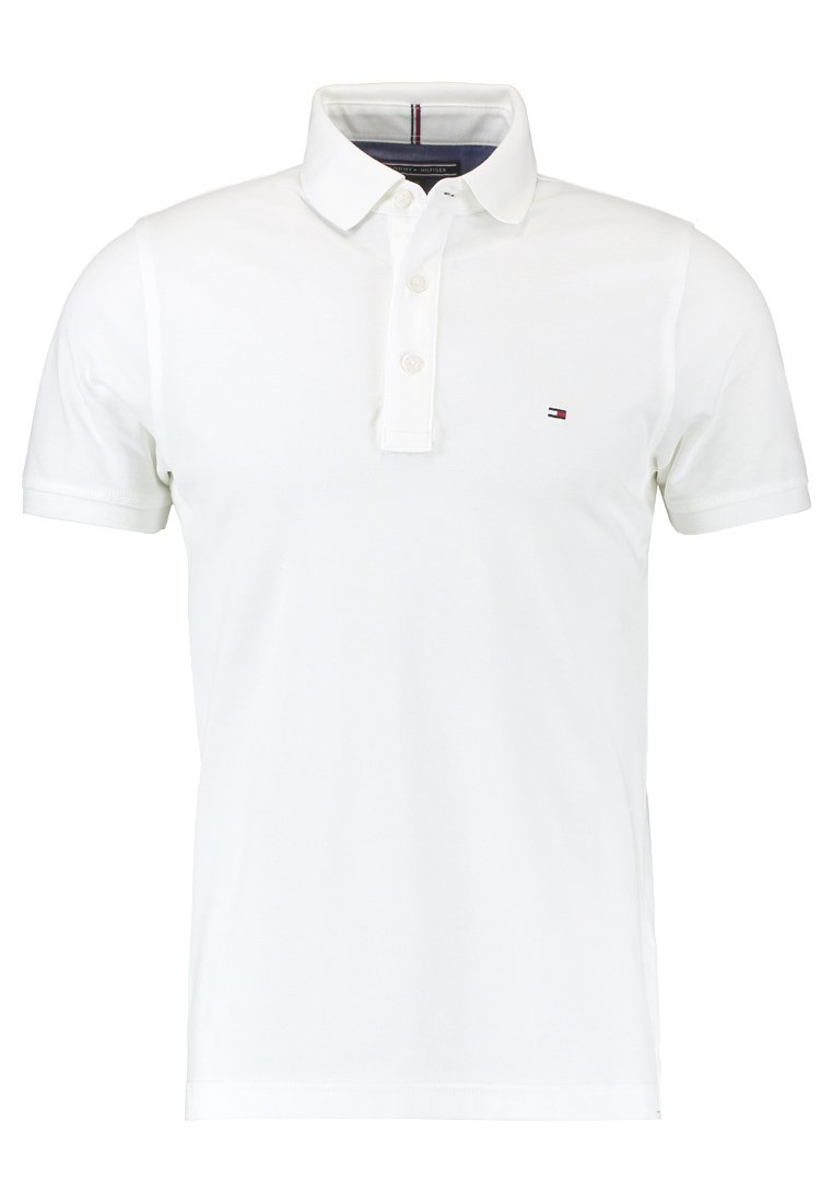 Tommy Hilfiger SLIM FIT - Polo - white -