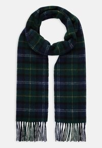 Barbour - TARTAN SCARF AND GLOVE GIFT SET UNISEX - Scarf - seaweed - 1
