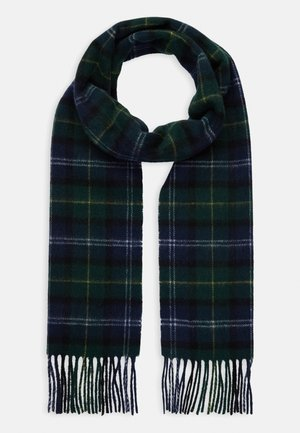 TARTAN SCARF AND GLOVE GIFT SET UNISEX - Szal - seaweed
